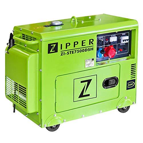 Zipper ZI-STE7500DSH Stromerzeuger (Diesel), 940x540x765