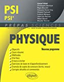 Physique PSI/PSI* Programme 2014 - Ellipses Marketing - 08/07/2014