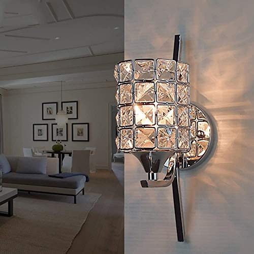 HMKJ Lámparas de Pared para Pasillo de Porche Lámpara de Pared de Cristal de Moda Simple Moderna lámpara de Noche lámpara de Noche de Fondo Creativo lámpara de Pared Focos de Pared