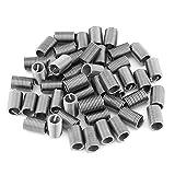Inserti per filettatura, 50 pezzi Filettatura per acciaio inossidabile SS304 Inserti per f...