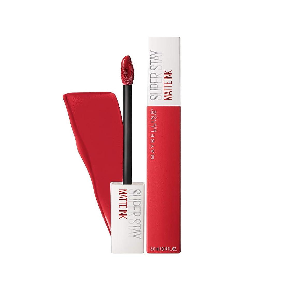 ホイストデータベース重量MAYBELLINE SuperStay Matte Ink - Pioneer (並行輸入品)