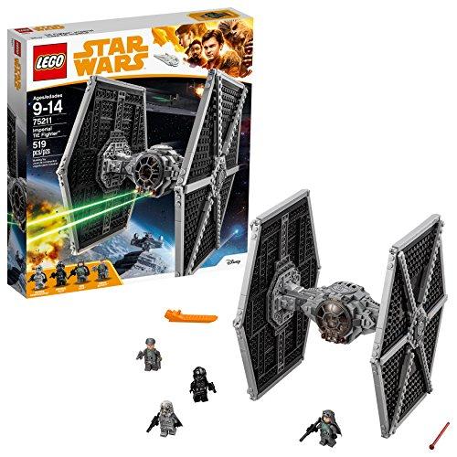 Vaisseau Empire Impériale TIE Fighter Chasseur LEGO Star Wars 75211 - 519 Pièces - 0