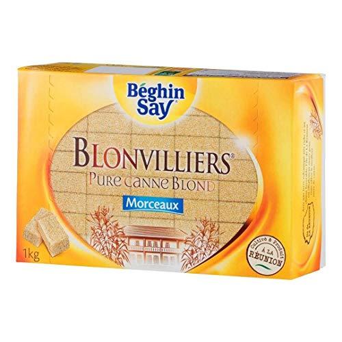 Leblondvillier Sucre Blond en Morceaux 1 kg