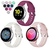 Lerobo Compatible with Samsung Galaxy Watch Active 2 Bands 40mm...