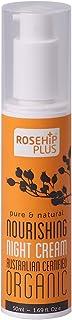 ローズヒッププラス(RosehipPLUS?)ナリッシングナイトクリーム(50ml)【ACO認定オーガニックコスメ】