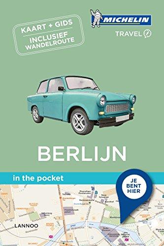 Berlijn: Kaart + gids - Inclusief wandelroute