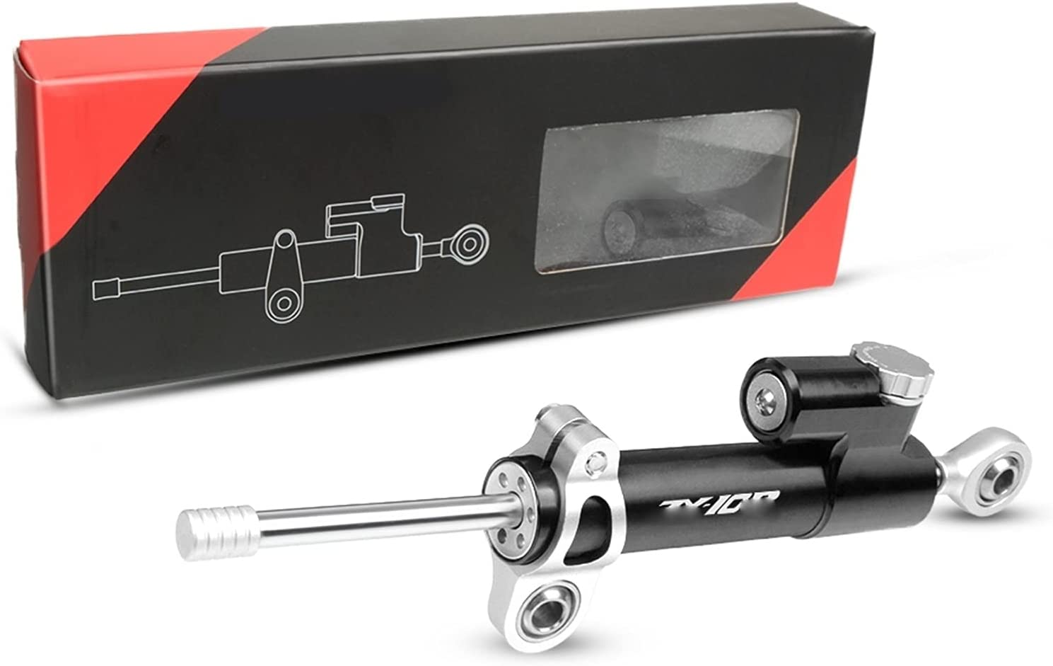 XJSM Motorcycle Damper Ranking TOP9 Steering Stabilize Safety for Same day shipping Kaw Control