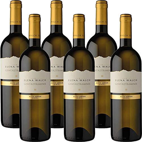 Gewürztraminer | Alto Adige Doc | Elena Walch | Vino Bianco | 6 Bottiglie 75cl | Idea Regalo