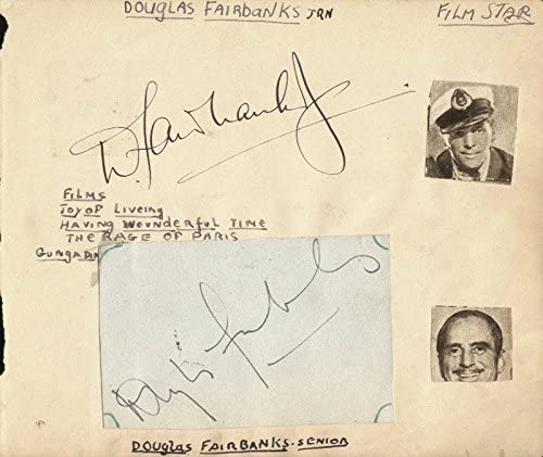 Douglas Challenge the lowest price of Japan ☆ Fairbanks Sr. Fashionable - by: Fairbank co-signed Signature