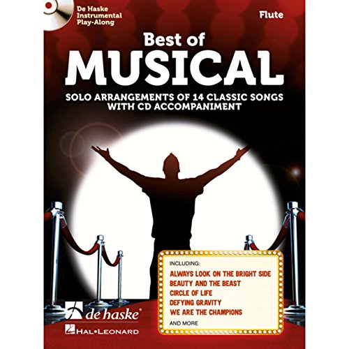 Best of Musical: Solo Arrangements of 14 Classic Songs with CD Accompaniment