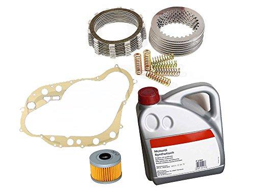 Kupplung Ersatzteil für/kompatibel mit MZ 660 Scorpion Baghira Mastiff Kupplungskit + Öl + Ölfilter + Dichtung