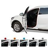GotoShop Car Noise Protection Keeper Anti Wind Noise Door Air Seal Strip DIY Moulding Trim (Black)