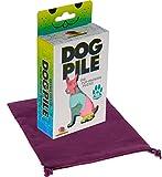 DOG PILE The Pup-Packing Puzzle _ Bonus Purple Velveteen Drawstring Pouch _Bundled Items