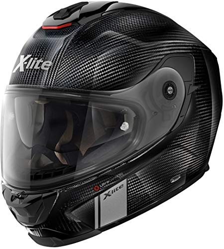 X-Lite X-903 Ultra Carbon Modern Class N-Com Helm Carbon L (60), Zwart