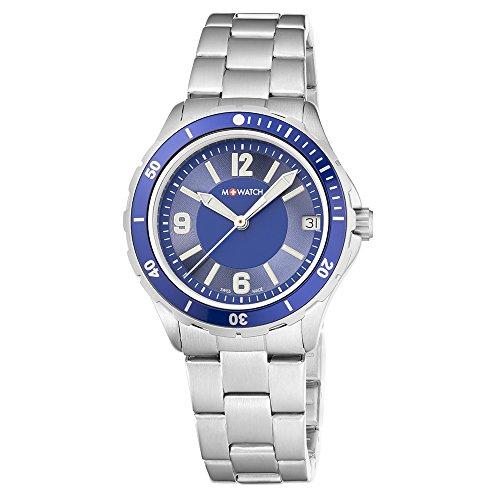 M-WATCH Damen-Armbanduhr Aqua Steel Analog Quarz WBX.18240.SJ
