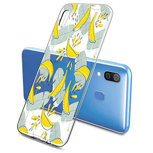 Suhctup Hülle Kompatibel mit Samsung Galaxy Xcover 4s Handyhülle TPU Bumper Silikon Transparent Weiche Schlank Schutzhülle Handytasche Gummi Dünn Flexibel Case Handy Soft Back Cover Handytasche