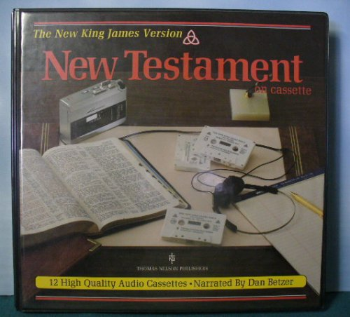 The New King James Version New Testament on Cassette (12 Cassettes)
