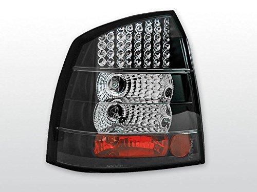 Opel - Faros traseros Astra G 09.97-02.04 3P/5P, color negro