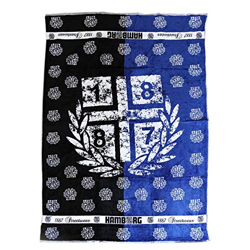 1887 Streetwear Handtuch Badetuch Towel 'Halb & Halb' 100 x 150cm