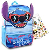 Disney Lilo And Stitch Backpack For Kids ~ 2 Pc Bundle With 16
