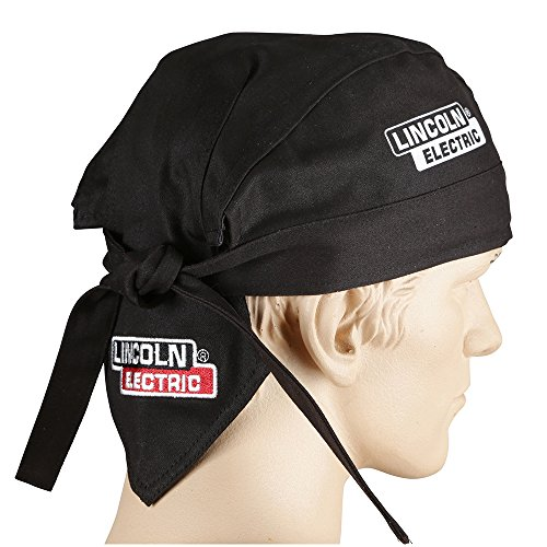 Lincoln Electric KH822 Black One Size Flame-Resistant Welding Doo Rag