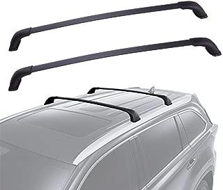 YITAMOTOR Cross Bars Roof Racks for 2014-2019 Toyota Highlander XLE Limited (Excl. Highlander LE, LE Plus & Hybrid LE), Crossbars Rooftop Cargo Bag Luggage Carrier for Kayak Canoe Bike