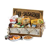 Dan the Sausageman s Denali Gourmet Gift Basket -Featuring Summer Sausage, Wisconsin Cheese and Dan s Quality Chocolate Covered Cherries.