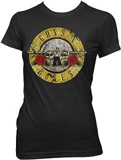 Guns N' Roses Distressed Bullet Black Youth T-Shirt