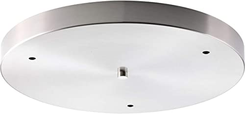 popular Progress popular Lighting P8403-09 Traditional/Casual Canopy lowest Accessory, Brushed Nickel online