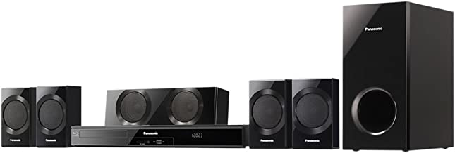 Panasonic SC-BTT190 Energy Star 5.1-Channel 1000-Watt Full HD 3D Blu-Ray Home Theater System (2013 Model)