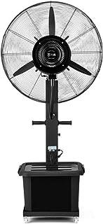 Ventilador silencioso de pie Soporte de Pedestal Ventilador Aerosol Ventilador Industrial oscilante Cabeza de Ventilador pivotante de 3 velocidades Enfriamiento Comercial Motor silencioso de CC 350