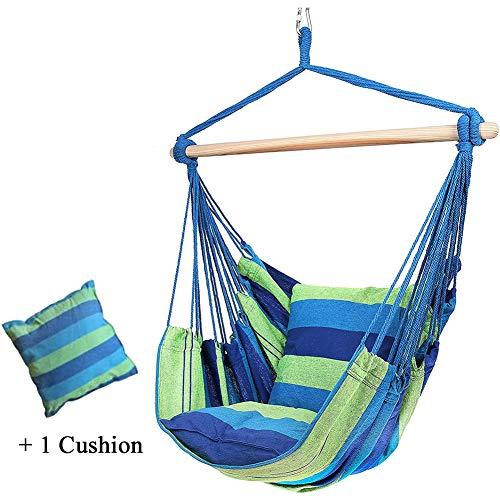 Hangende Hangstoel, Hangende Schommelstoel Met Kussens, Schommelstoel Voor Binnen Of Buiten