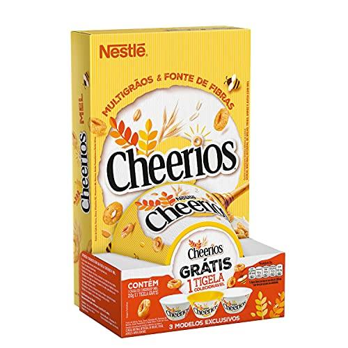 Cereal Matinal Cheerios 4 Cereais 210g com Tigela Grátis