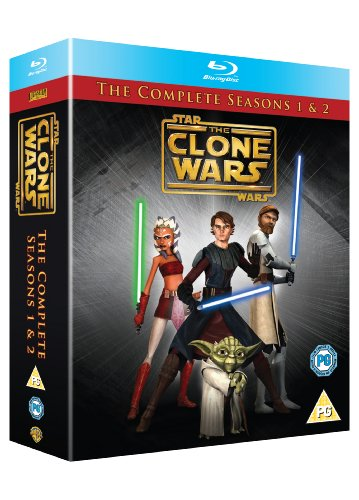 Star Wars - Clone Wars - Season 1+2 [Blu-ray] [UK Import]