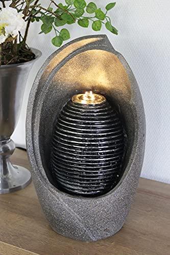 Design Zimmerbrunnen BK835 Springbrunnen Gartenbrunnen mit Beleuchtung Terrassenbrunnen Balkonbrunnen