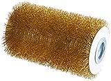 Gloria Spazzola per Pietra Pro Accessorio per Multibrush e Powerbrush per Pulire Selciati e Piastrelle In Pietra con Spazzola In Filo Metallico diametro di 10 Cm larghezza di 16.5 Cm