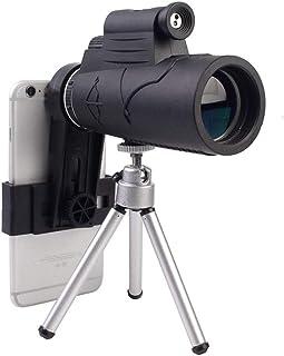 50x60 Monocular Telescope With laser lighting, Optical Prism Smartphone Monocular, Waterproof Adjustable Zoom Telescope fo...