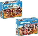 Playmobil History - Roman chariot + Roman crew 2 parts 5391 5393