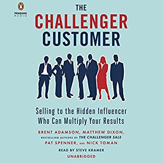 Page de couverture de The Challenger Customer