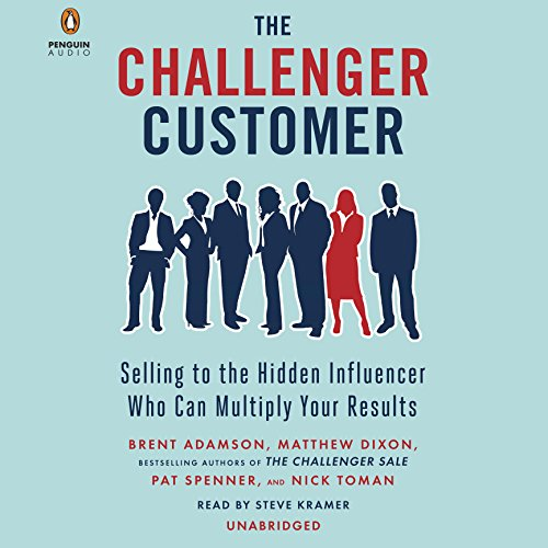 The Challenger Customer audiobook cover art