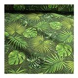 Stoff am Stück Stoff Polyacryl grün Dschungel Palme