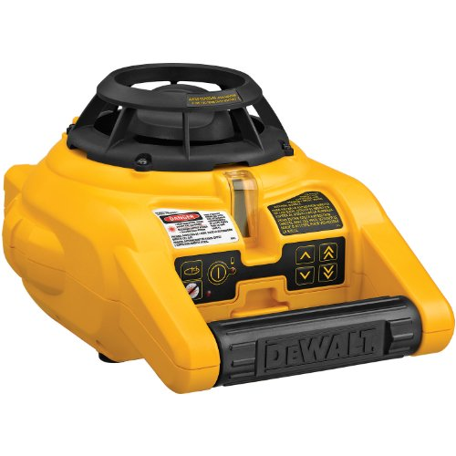 DEWALT Laser Level Kit, Rotary with Laser Detector, 150-Foot Range (DW074KD)