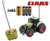 RC ferngesteuerter Traktor Claas Axion 850 Maßstab 1:28 inkl. allen Batterien RTR - Sofort Spielbereit - LIZENZ NACHBAU