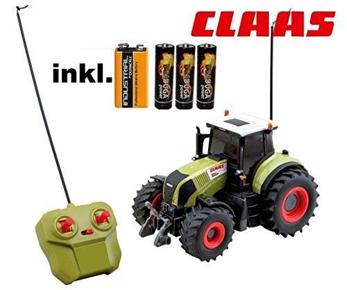 RC ferngesteuerter Traktor Claas Axion 850 Maßstab 1:28 inkl. allen Batterien RTR - Sofort Spielbereit - LIZENZ NACHBAU*