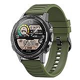 ZGZYL X28 Smart Watch 1.32 Pulgadas 360 * 360 HD Pantalla HD con Ritmo Cardíaco Oxígeno Smart Watch 3ATM Empoteas Impermeables Deportes Hombres Y Mujeres Reloj De Actividades Fitness Tracker,D