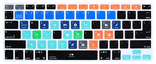 MMDW FL Studio Formally Fruity Loops - Funda de silicona para teclado de MacBook Pro 13