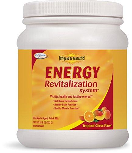 Enzymatic Fatigued To Fantastic Energy Energy Revitalization, Tropical Citrus Delight Flavor, 24.8-Ounces