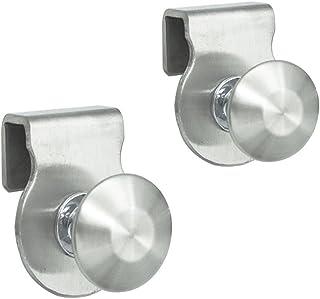 show original title Details about  /Shower door handles bathroom handle knob door Ø 3cm Polished Shiny Steel