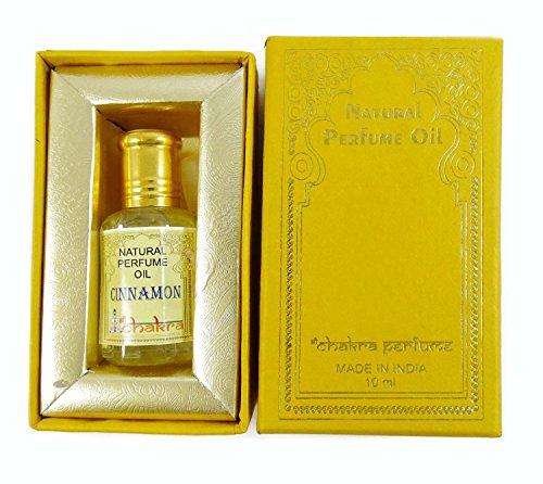 Chakra Naturparfum Zimt Duft 100% reines Naturparfum Öl 10ml