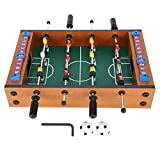 Fdit Mesa de futbolín Mini futbolín de Mesa Soccerball Sports Indoor Table Soccer Set para arcadas, Sala de Juegos, Bares, Fiestas